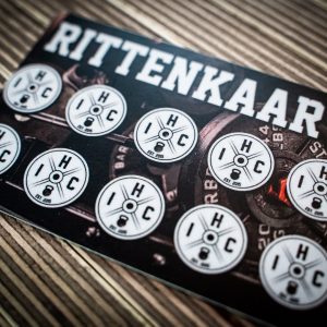 Rittenkaart / Punch Card